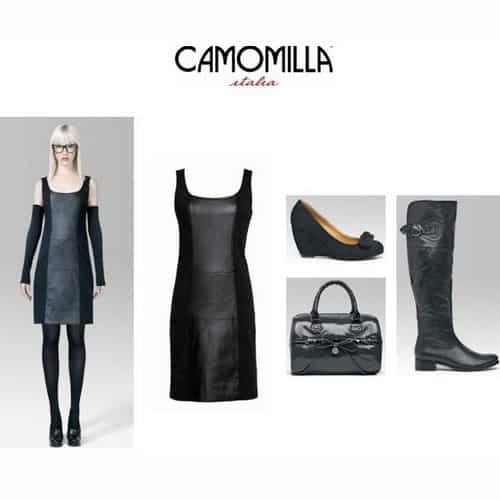 "Camomilla Italia reinterpreta il ""Little Black Dress"""