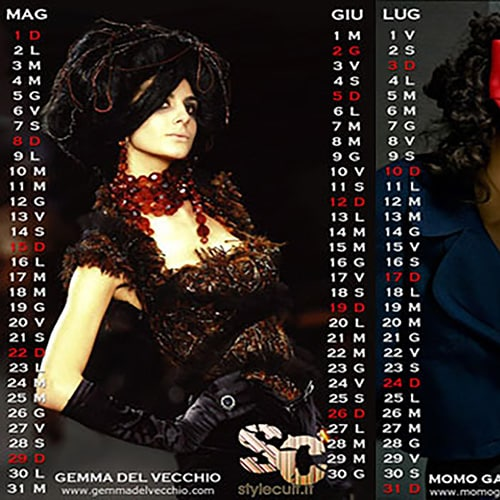 Disponibile il nuovo Calendario StyleCult 2011