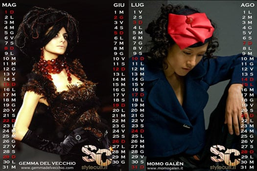 Calendario StyleCult 2011