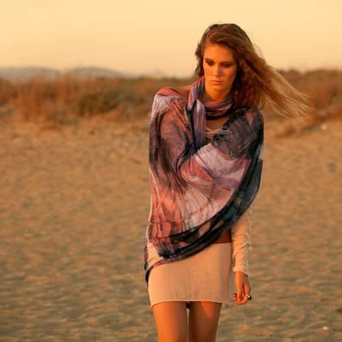 Le sciarpe di Luisa Brini: lasciati avvolgere dal glamour!