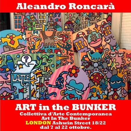 Londra, una nuova vetrina per la pop art contemporanea di Aleandro Roncarà