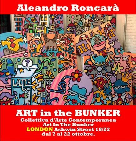 Aleandro Roncarà | Art in the Bunker