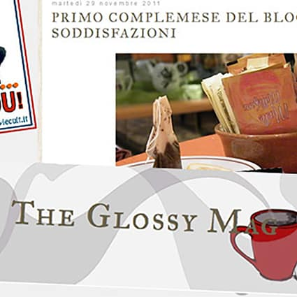 BLOG OF THE WEEK: The Glossy Mag di Francesca Succi