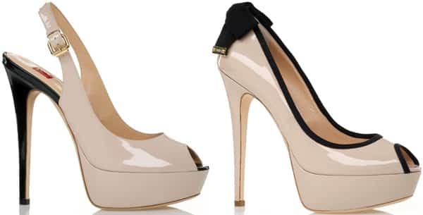 Eterea, scarpe con tacco Ballin per la primavera estate