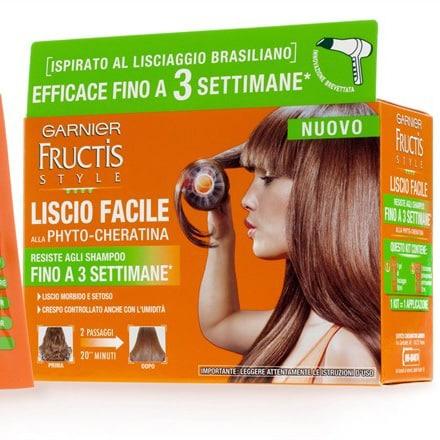 Capelli lisci in pochi minuti con Fructis Style Liscio Facile di Garnier