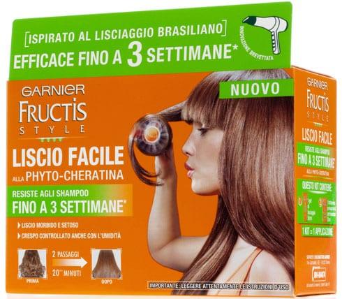 Fructis Style Liscio Facile di Garnier