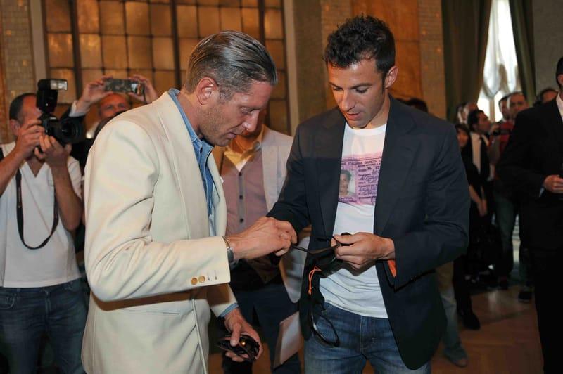 Alessandro Del Piero e gli occhiali ADP10