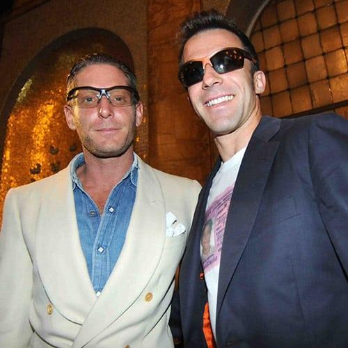 Alessandro Del Piero e gli occhiali ADP10: il colore cambia, lo stile resta