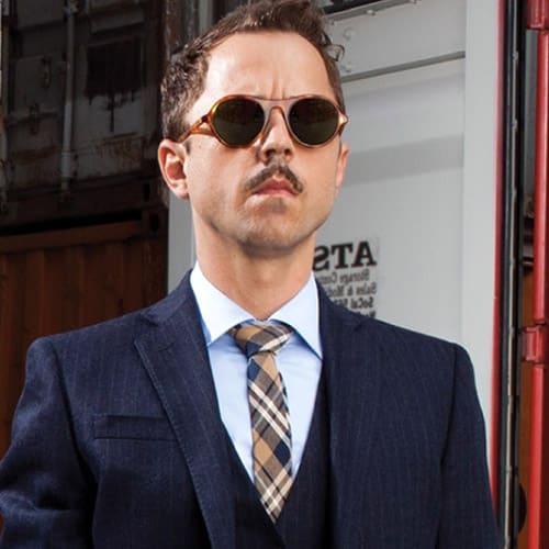 Giovanni Ribisi e Barton Perreira, i nuovi occhiali da sole