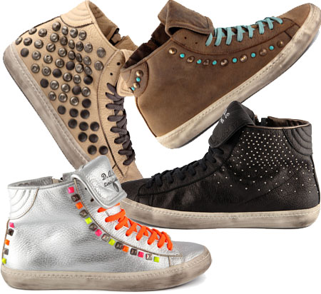 D.A.T.E. Hill high sneakers