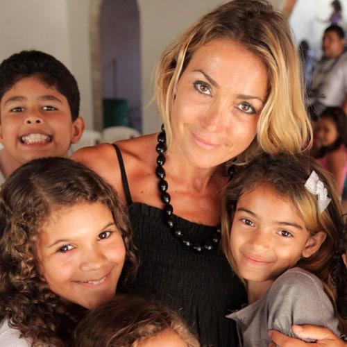 Francesca Senette in Brasile con Intervita Onlus