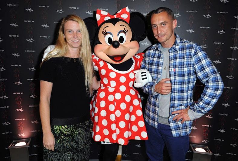 Minnie Mouse alla London Fashion Week