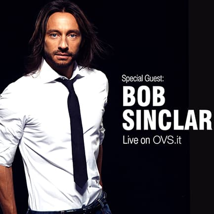 Pigiama party e Bob Sinclar per la Vogue Fashion's Night Out di OVS