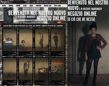 Il party online di Pepe Jeans London