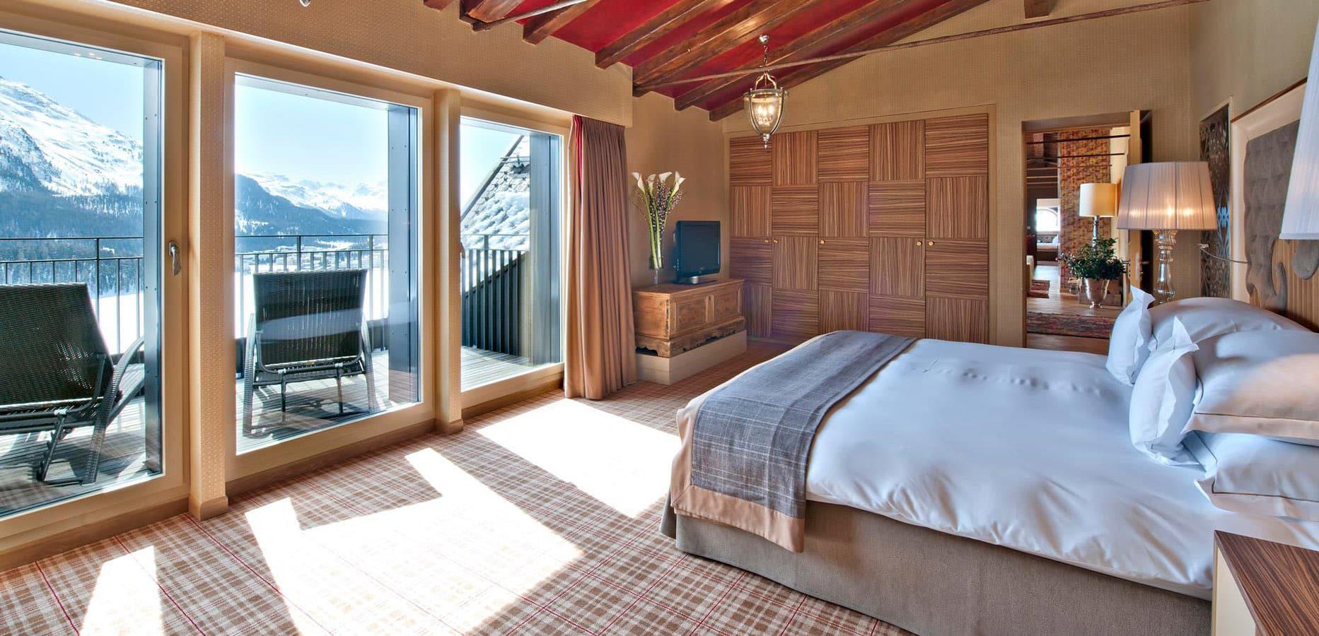 Carlton Hotel St. Moritz | Suite Carlton Penthouse