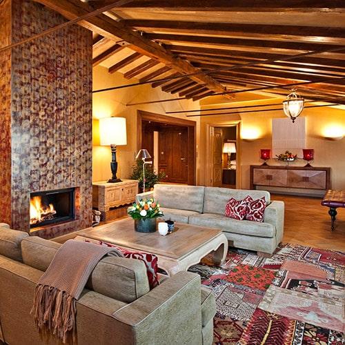 Carlton Hotel St. Moritz, una suite sbalorditiva