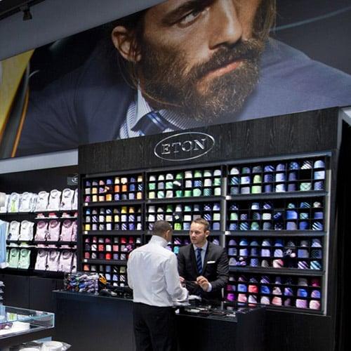 Eton, il primo negozio monomarca a Stoccolma