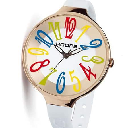Hoops ironizza sul tempo con il nuovo orologio Glam Crazy