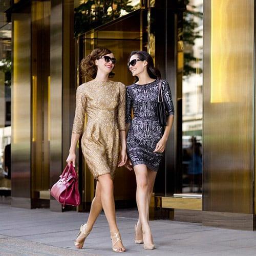 Moda e glamour nei Salottini di Stile firmati Gold Black Style