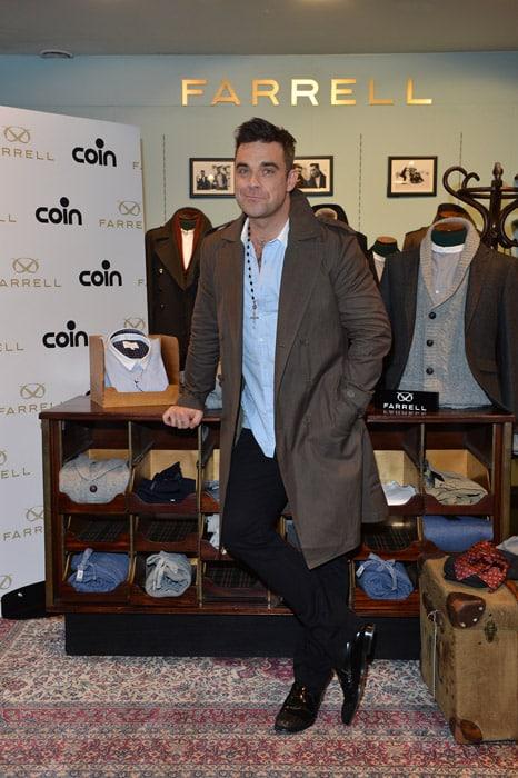 Robbie Williams da COIN