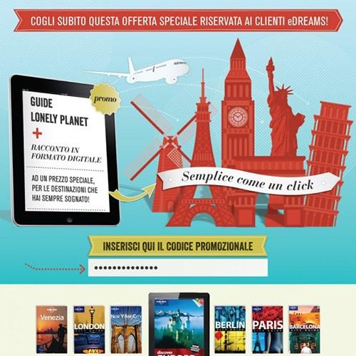 """""""In viaggio con gli e-book"""", l'iniziativa di eDreams e Bookrepublic"""