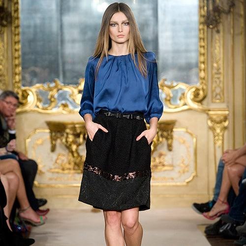 La luxurious skirt firmata Massimo Rebecchi