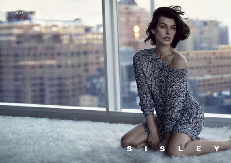 Milla Jovovich per la campagna Sisley Primavera Estate 2013