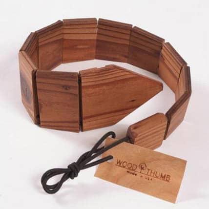 Cravatte… di legno!