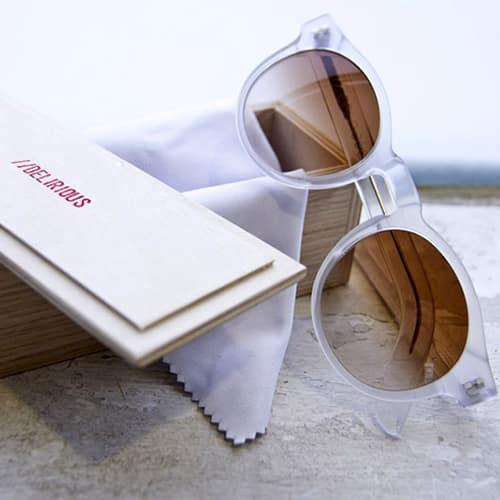 Nasce // DELIRIOUS eyewear, occhiali realizzati artigianalmente