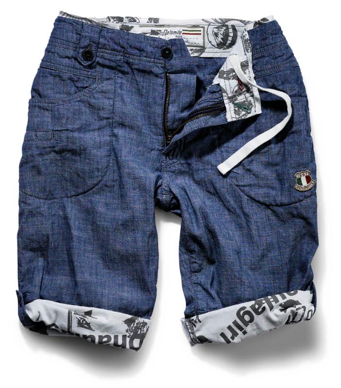 Shorts in denim Fitz Roy di Dolomite