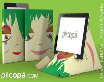 Plicopá, la custodia per iPad e tablets