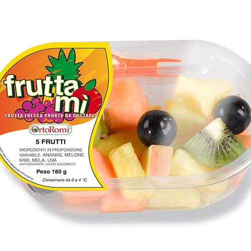 Frutta Mì OrtoRomi: l'estate pronta da gustare