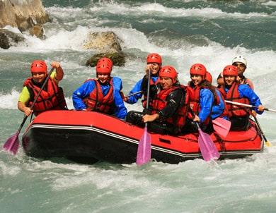 Rafting in Val di Sole