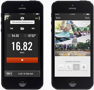 Nike+ Runnig app
