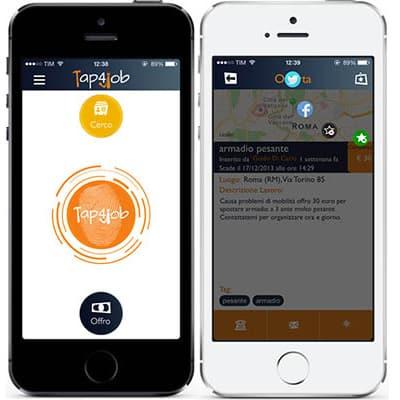 Tap4Job, l'app italiana dedicata ai micro-lavori