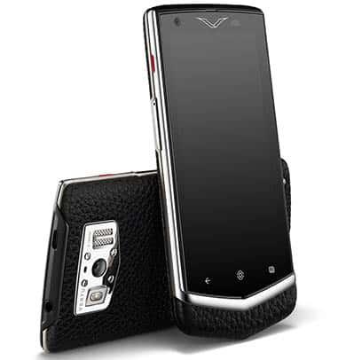 Lo smartphone di lusso Vertu Constellation