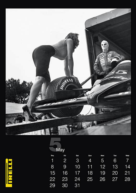 Pirelli THE CAL 1986 by Helmut Newton