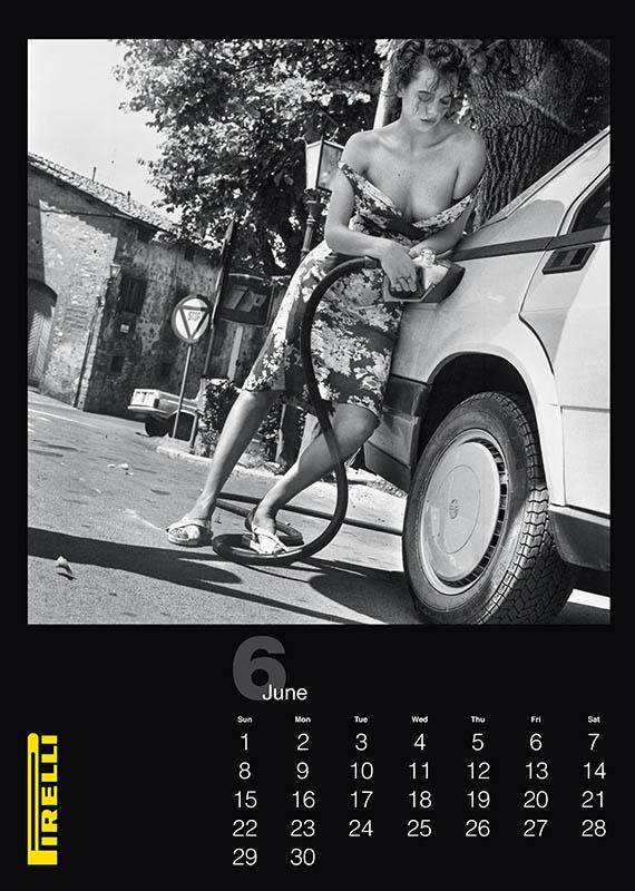 Pirelli THE CAL 1986 by Helmut Newton