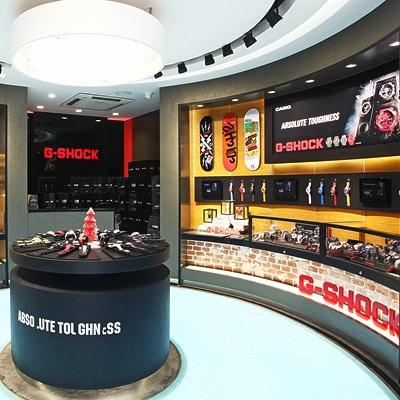 Il Temporary Store capitolino di Casio G-Shock