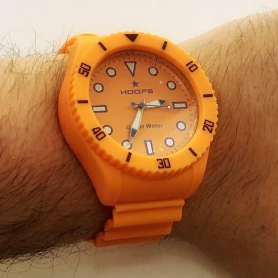 Hoops Underwater, orologi da uomo per l'estate