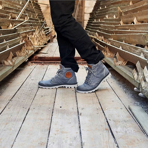 Palladium, le scarpe per moderni esploratori cittadini