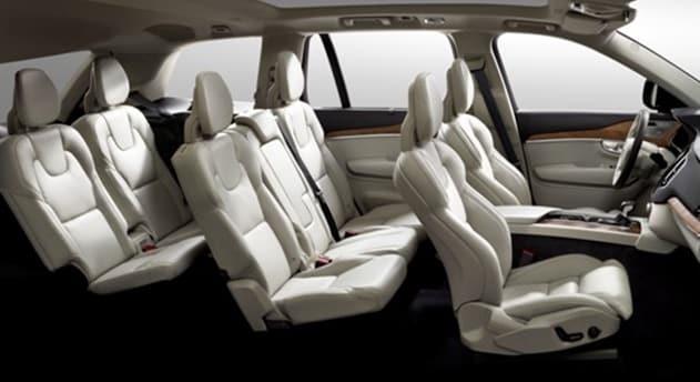 Interni della nuova Volvo XC90