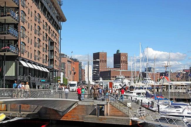 Oslo | Aker Brygge