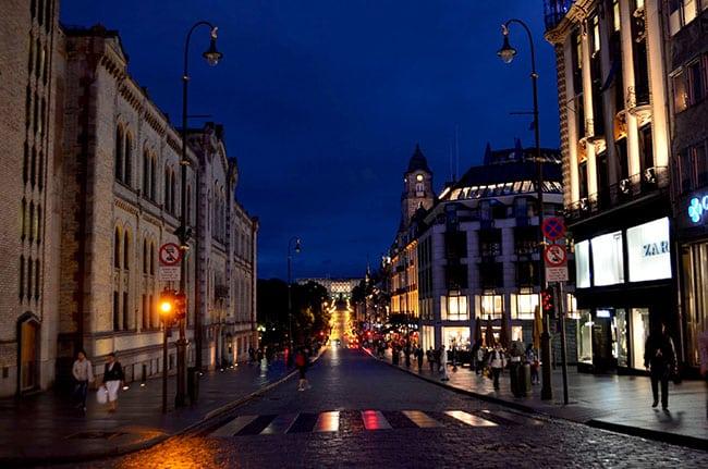 Oslo | Karl Johans Gate