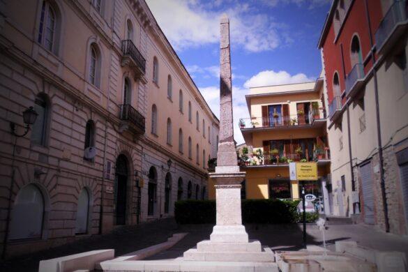 Obelisco egizio di Iside a Benevento