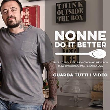 Peroni e Chef Rubio: Nonne Do It Better