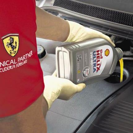 Shell Helix Ultra con tecnologia PurePlus: innovazione e tecnologia