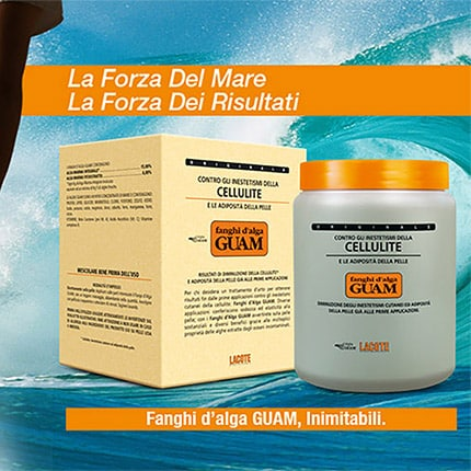 Fanghi d'alga Guam: un successo in costante crescita
