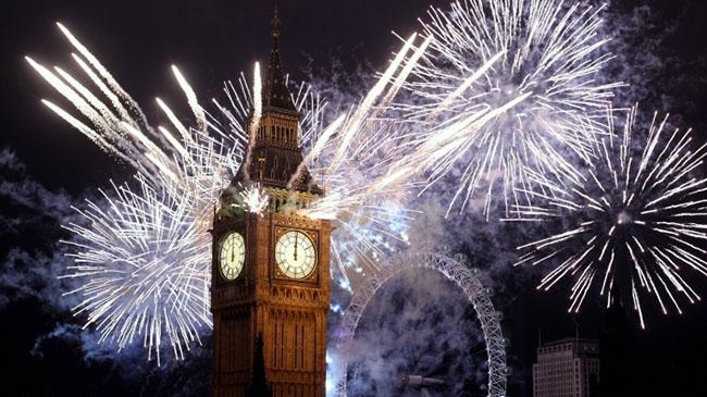 Capodanno 2016 a Londra