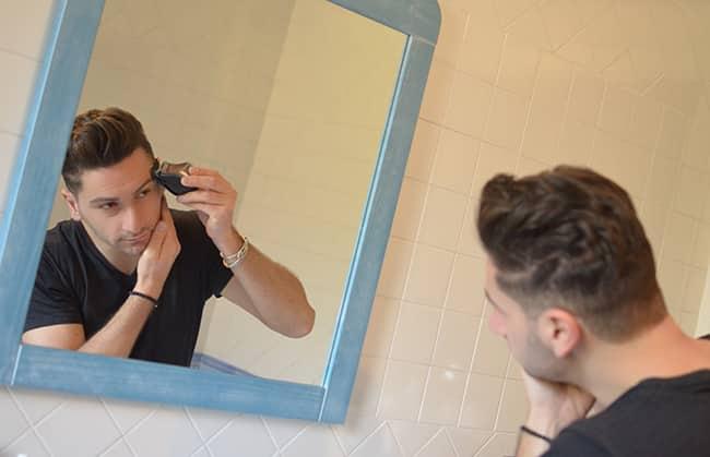 Taglio di capelli con Remington QuickCut